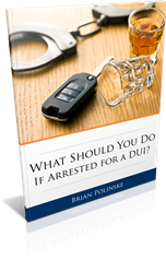 DUI must know facts for those arrested.